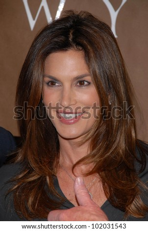 "Cindy Crawford at a celebration of Jerry Weintraub's New Book ""When I Stop Talking You'll Know I'm Dead,"" Barney's New  York, Beverly Hills, CA. 05-18-10"
