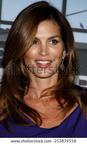 "Cindy Crawford at the Los Angeles Premiere of ""Up In The Air"" held at the Mann Village Theater in Westwood, California, United States on November 30, 2009."