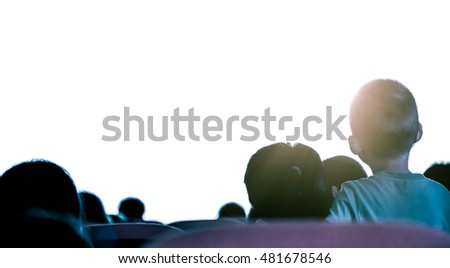Cinema or theater in the auditorium,business background.