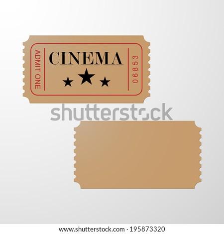 Blank Ticket Images RoyaltyFree Images Vectors – Blank Ticket