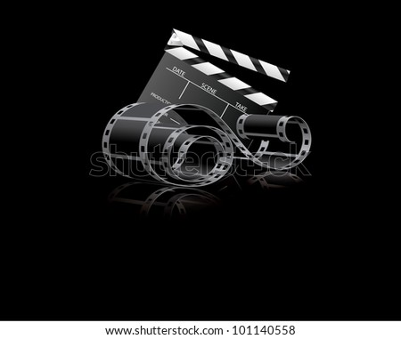 Cinema tonight - stock photo