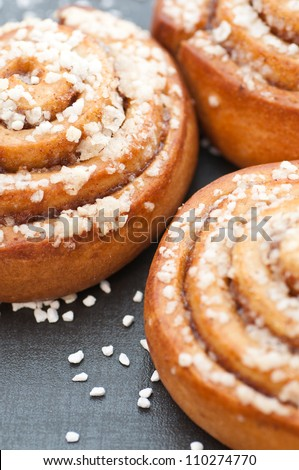 Cinnamon Buns - stock photo