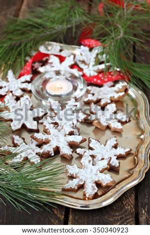 Cinnamon star cookie