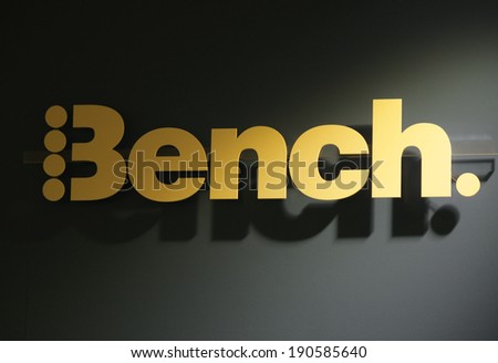 "CIRCA MARCH 2014 - BERLIN: the logo of the brand ""Bench"", Berlin."