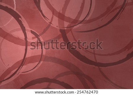Circle background marsala color