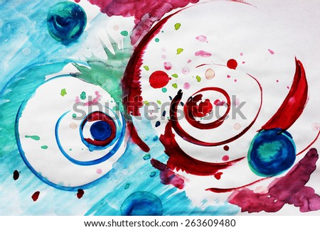 Circle design or Creative design - stock photo