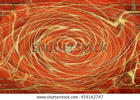Circle motion blur background and abstract
