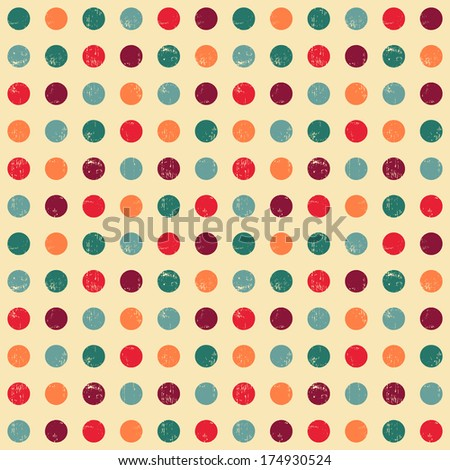 Circle seamless pattern.Seamless pattern can be used for wallpaper, pattern fills, web page background,surface textures. Gorgeous seamless background - stock photo