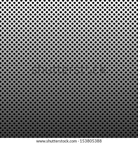 Circle texture metal abstract background with dots