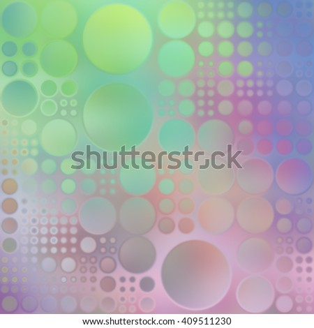 Circles Design Abstract Background