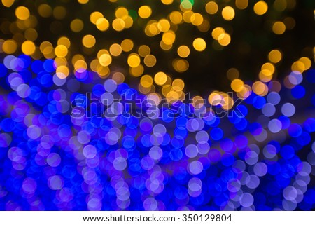 Circles of light abstract background - stock photo