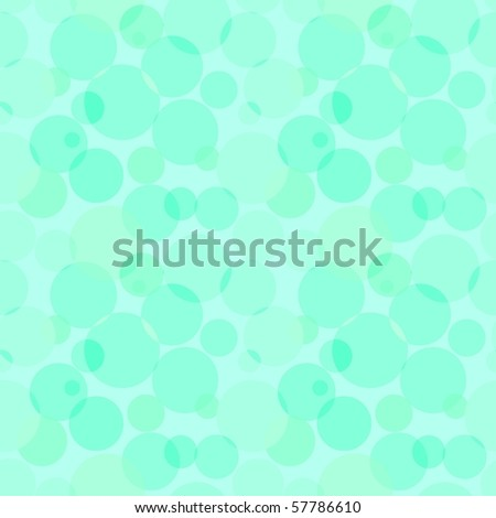 Circles pattern in fashion trend colors - stock photo