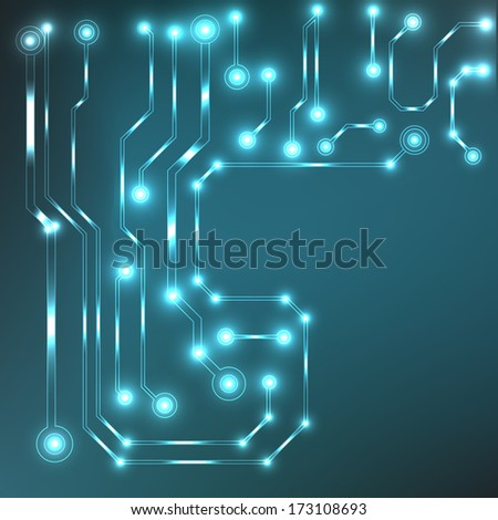 circuit board background. bitmap