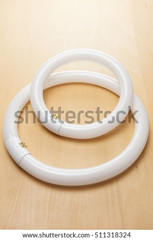 Circular fluorescent light