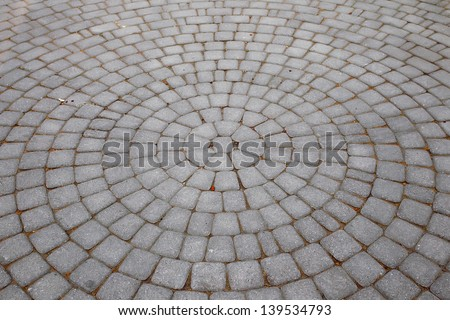 Circular pavement