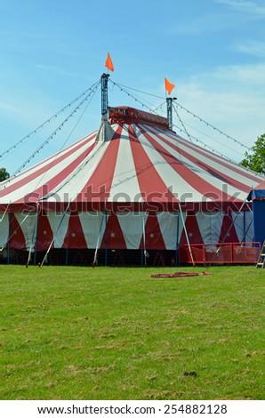 circus big top - stock photo