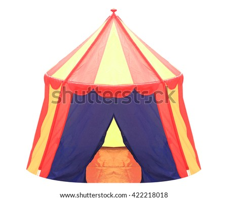 Circus Tent Indoor Children  sc 1 st  Shutterstock & Cartoon Illustration Three Little Pigs Childrens Stock Vector ...
