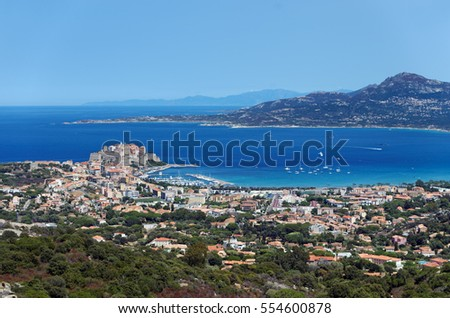 citadel and calvi bay
