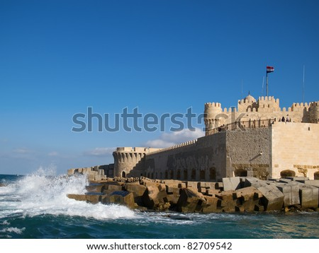 Citadel (Fort) of Qaitbay in Alexandria (Egypt)