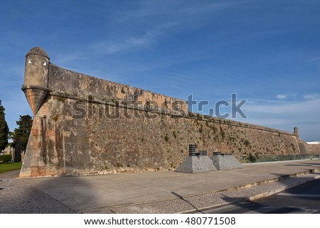 citadel of the coastal town of Cascais in Portugal