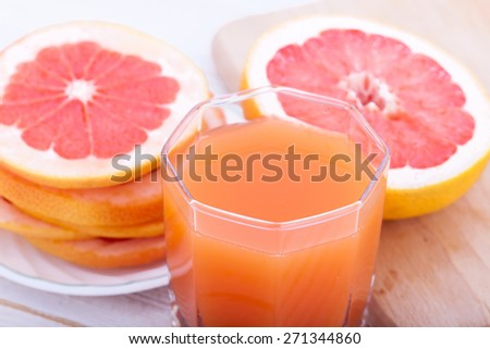 Citrus juice - stock photo