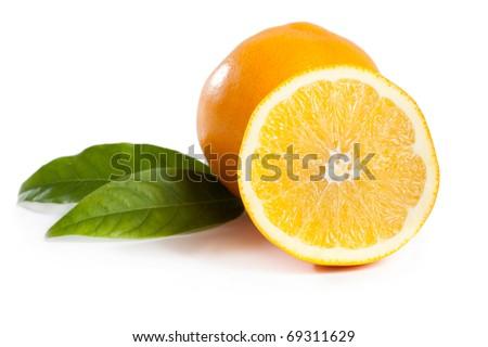 citrus orange fruit - stock photo