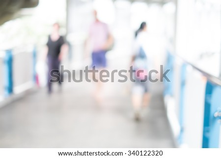 city abstract background - stock photo
