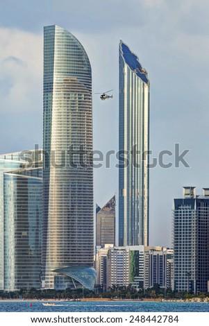 city/Abu Dhabi 1/cityscape - stock photo