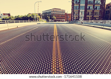City Bridge - stock photo