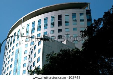 City building - stock photo