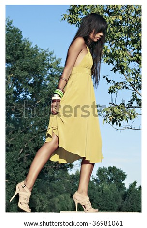 City fashion - stock photo