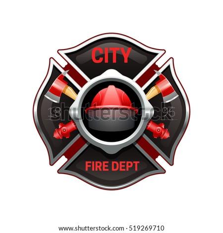 fire department badge stock images royaltyfree images