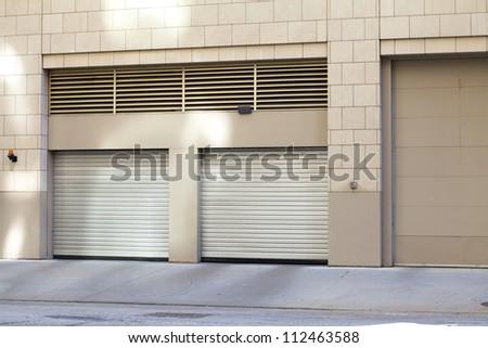 City Garage - stock photo