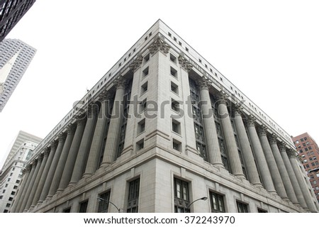 City Hall in Chicago - stock photo