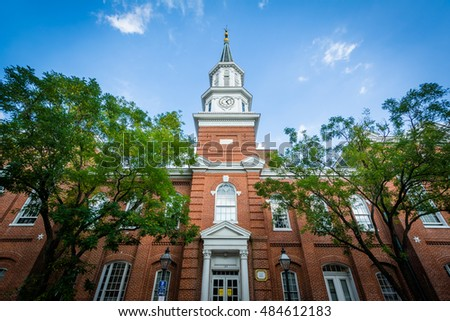 City Hall, in the Old Town of Alexandria, Virginia.