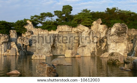 City Lake Park - Ilsan Lake Park, South Korea - stock photo