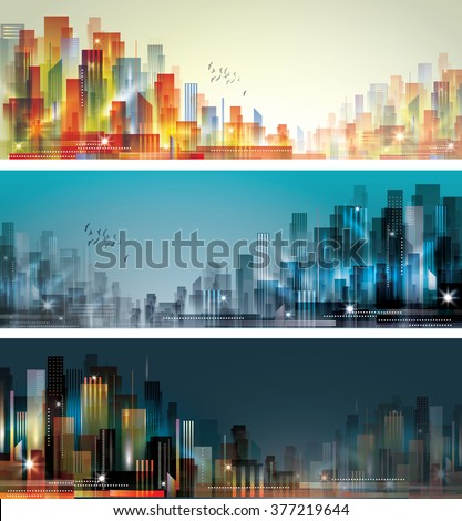 City Landscape - stock photo