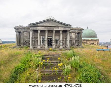 City Observatory is an astronomical observatory on Calton Hill in Edinburgh, Scotland.