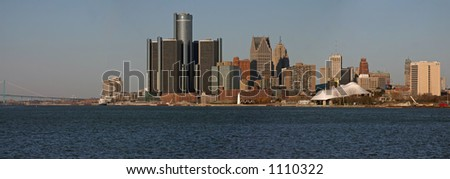 City of Detroit Panorama