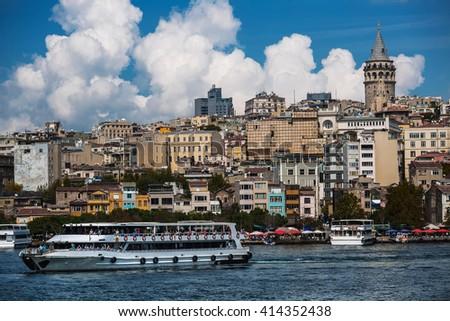 City of Istanbul, Turkey - stock photo