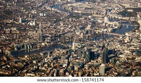 City of London - stock photo