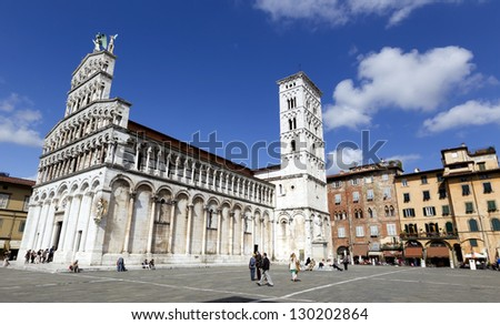 City of Lucca, Italy - stock photo