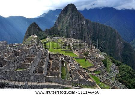 City of Machu Picchu, Peru - stock photo