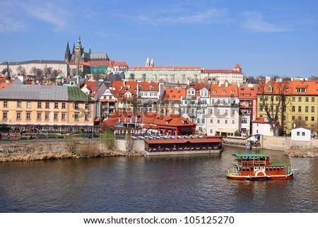 City of Prague, Czech republic - stock photo