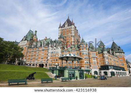 City of Quebec - stock photo