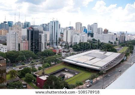 city of sao paulo - stock photo