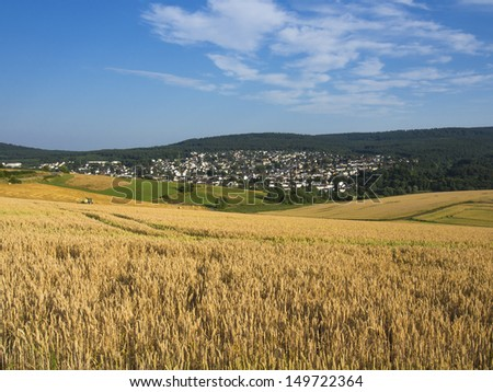 City of Taunusstein in Germany - stock photo