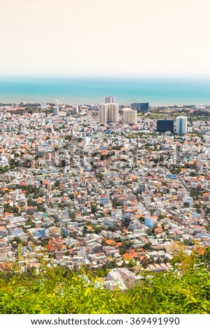 City of Vung Tau, Southern Vietnam