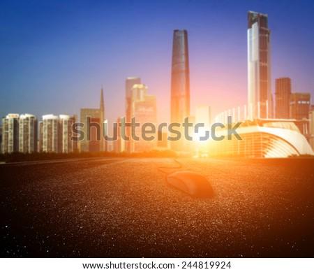 City Road - stock photo