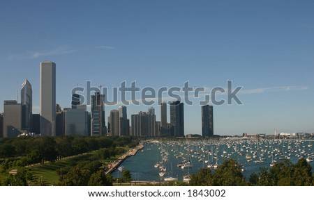 City Skyline and Shoreline